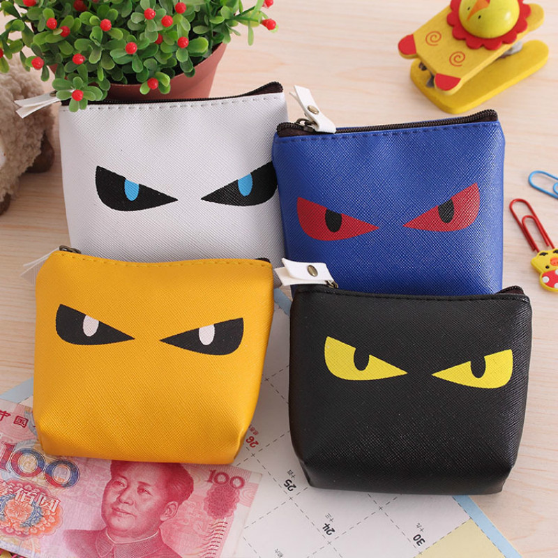 Wholesale 2016 Cheap Pet eye Women Coin Wallet male Purse Mini Bag Kids Coin Purse Pouch Women Wallets Coins Bags High Quality new brand mini cute coin purses cheap casual pu leather purse for coins children wallet girls small pouch women bags cb0033