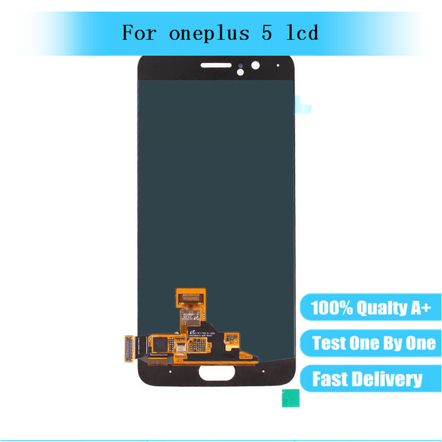"""5.5"""" New For Oneplus 5 LCD Display Screen Touch Panel Assembly For Oneplus Five A5000 Lcd Replacement"""