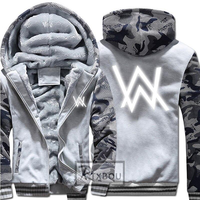 À 4 D'hiver 2 1 Manteaux Shirts Nouvelles Vestes 5 Fané Éclair Lumineux Hommes Et 3 Capuche Alan Épaisse Walker Fermeture 4CU0wqxU