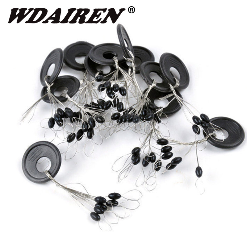 60Pcs 10Group Black Rubber Stopper Oval Bean Space Fishing Bobber Stopper Beans Space Not To Hurt The Vertical accessories60Pcs 10Group Black Rubber Stopper Oval Bean Space Fishing Bobber Stopper Beans Space Not To Hurt The Vertical accessories