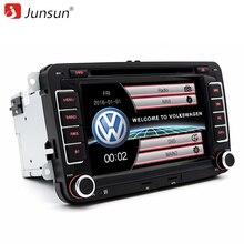 7 дюймов 2 din автомагнитола с навигатором DVD Плеер Для VW/Volkswagen GOLF/Skoda/Passat/Сиденья Аудио Стерео