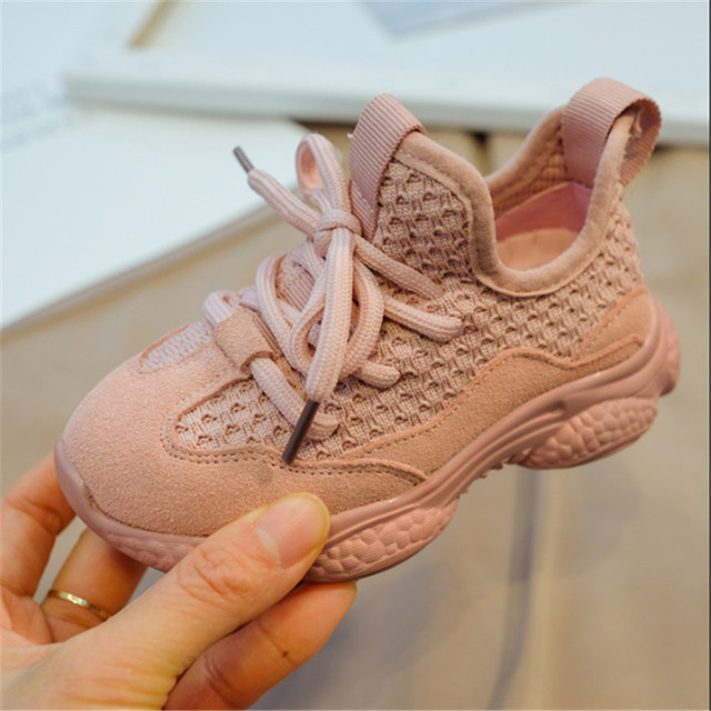 New Autumn Children Mesh Breathable Fashion Casual Kids Shoes Size 21-30