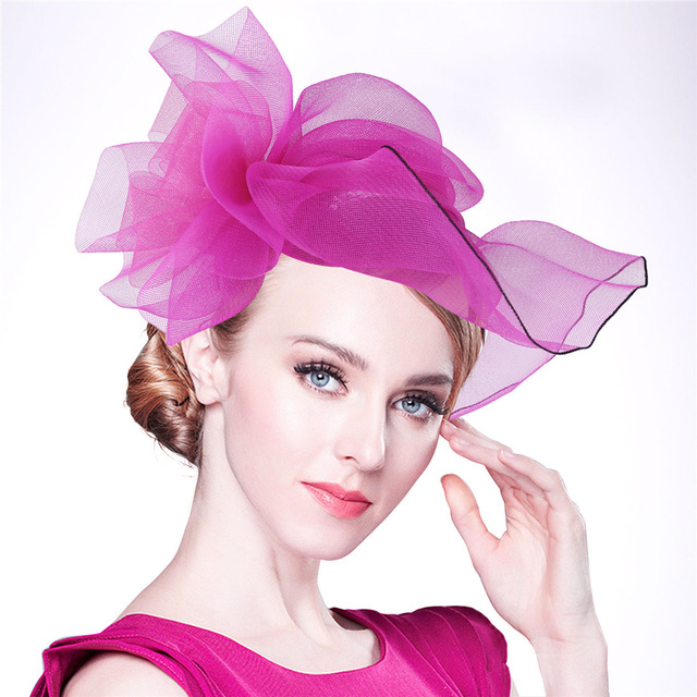 Cappello Donne Da Elegante Cappelli Vestito Partito Chiesa Sposa zn1RHaw1 9e2e363f925d