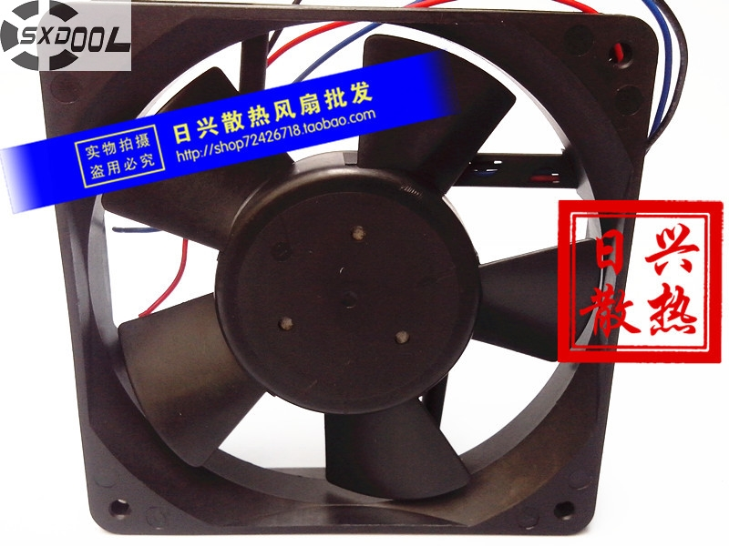 SXDOOL cooling fan 48V  F1225E48B2 0.17A 12CM 12025 120*120*25mm industrial power supply cooler запонка arcadio rossi запонки со смолой 2 b 1026 20 e
