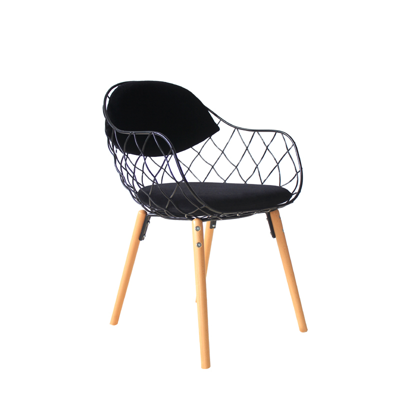 IKEA Personalized Promotional Minimalist Modern Scandinavian Wire Chair  Dining Chair Cushion Demolition Casual Computer Chair In Shampoo Chairs  From ...