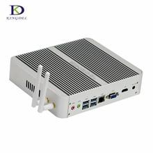 Новые 4 м Кэш DDR4 Оперативная память Intel i5 6360U Dual Core Мини-безвентиляторный ПК неттоп компьютер Intel Iris Graphics 540 MAX 3.10 ГГц в наличии