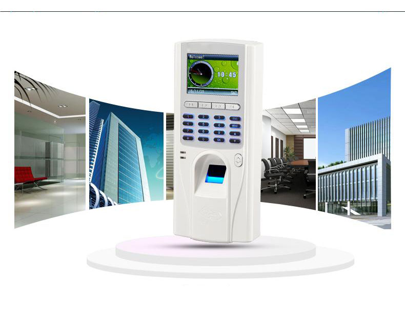 TCP/IP biometric fingerprint time attendance and access control with RFID card reader 3000 users standalone access controller outdoor use waterproof tcp ip color screen fingerprint and 125khz rfid smart card time attendance and access control system
