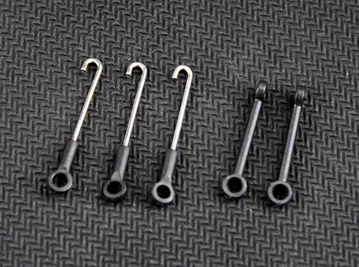 Wltoys XK K110 K120 accessories pull rod trolley connecting buckle XK.2.K100.006 for Wltoys XK K110 K120 RC helicopter spare par xk k100 k110 k120 rc helicopter parts connect buckle set