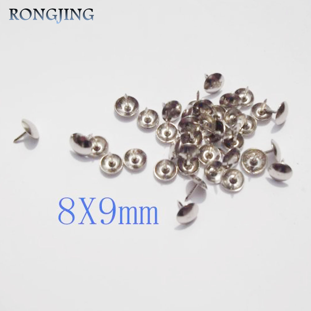100pcs diy wooden accessories corners fixed rivets bubble nails
