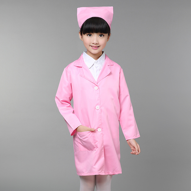 Children play Nurse Costume costumes small doctor occupation ...