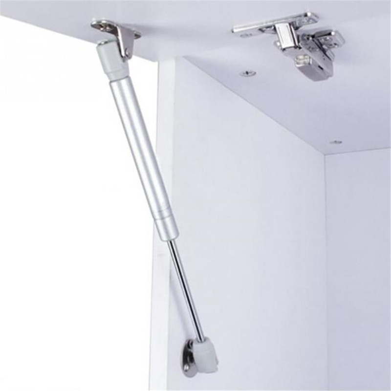 1PCS Furniture Cabinet Door Stay Soft Close Hinge Hydraulic Gas Lift Strut Support Rod Pressure 40/60/80/100/120/150N