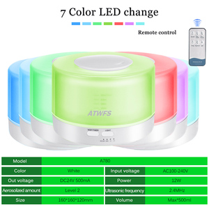 Image 3 - ATWFS Remote Control Ultrasonic Essential Oil Diffuser Air Humidifier Aroma Diffuser Fogger 7 Color LED Aromatherapy Mist Maker