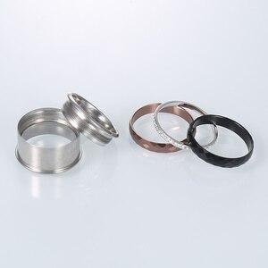 Image 4 - Floya pełna cyrkonia tytanowe pierścionki 3 warstwy wymienne ze stali nierdzewnej zespół Arctic symfonia obrączka Femme prezent dla dziewczyny