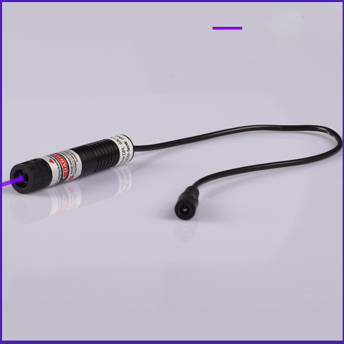 80mW 405nm Line (intensity distribution) Violet laser alignment with power supply, Plug and use, SIZE 16X72mm 50mw 445nm line gauss beam blue laser alignment with power supply plug and use size 16x72mm