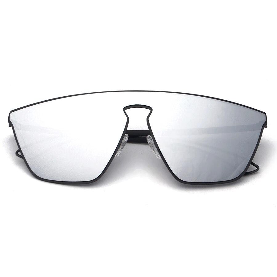 Geométrica integrado futurismo homens mulheres lentes de óculos de sol  espelhado designer marca new óculos de sol oculos de sol moda s30035 7c68be7989