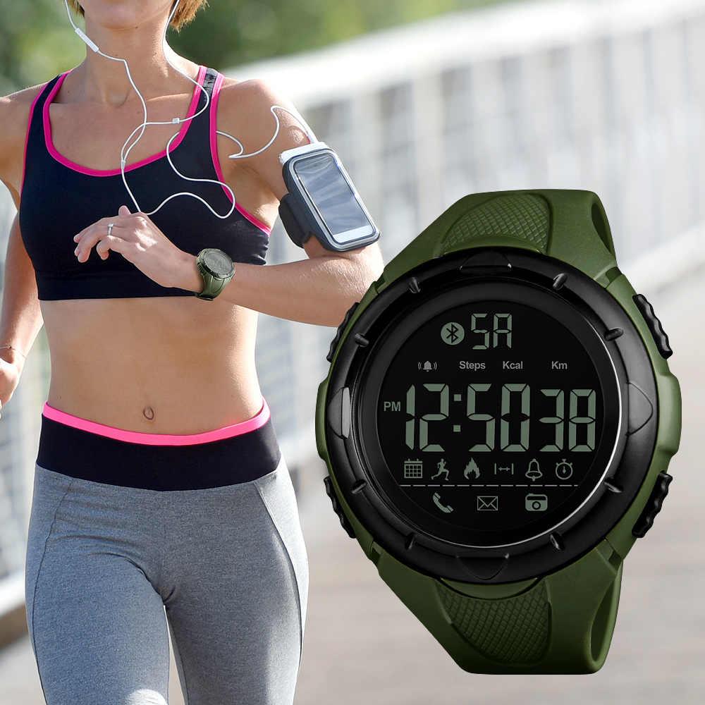 SKMEI Brand Smart Watch Men LED Digital Intelligent Wrist Watch Outdoor Waterproof Sport Watch With Pedometer Relogio Masculino