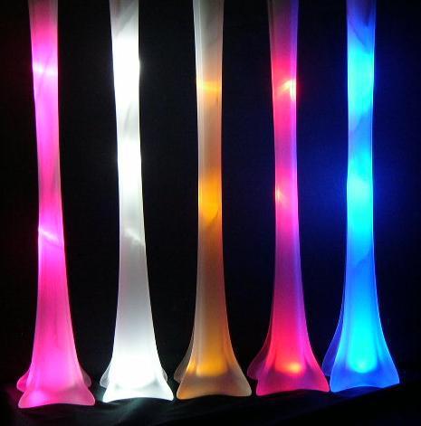 Free Shipping -WHITE 5 Sets Eiffel Tower LED Light For Inside Vase
