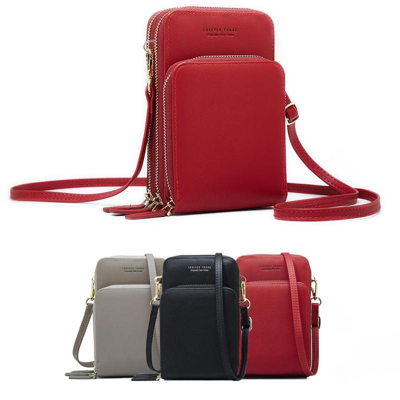 Bolsa de ombro crossbody telefone celular chegada saco de celular moda uso diário titular do cartão mini verão bolsa de ombro para mulher carteira