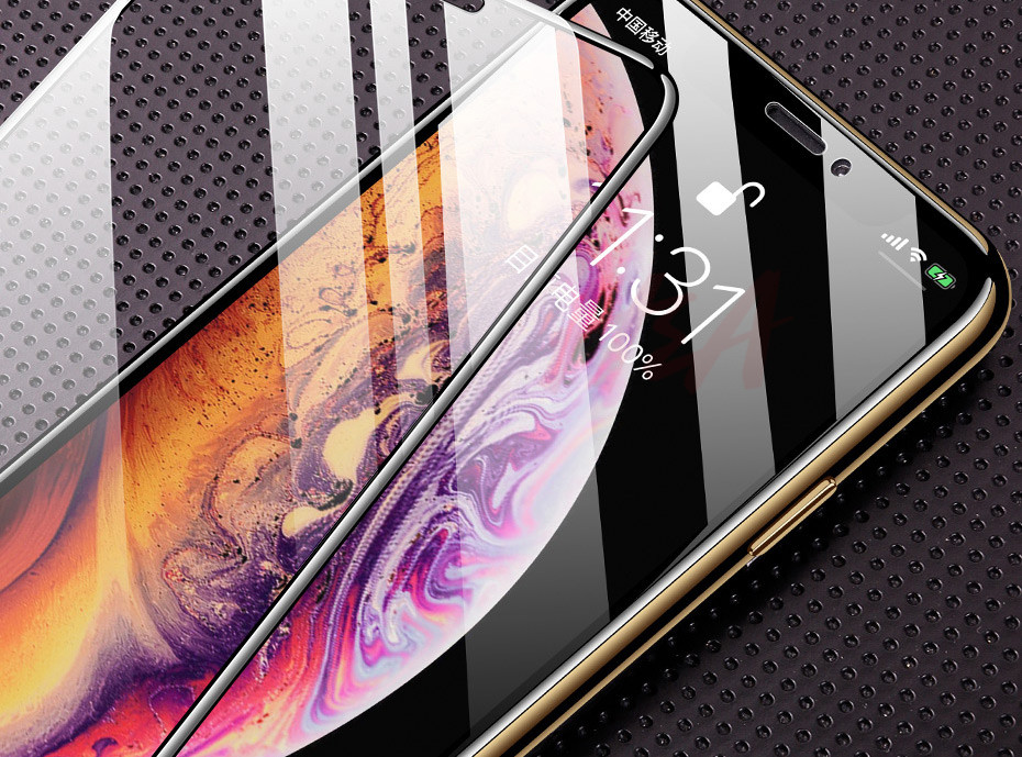 35D Curved Edge Tempered Screen iPhone Protective Glass 30