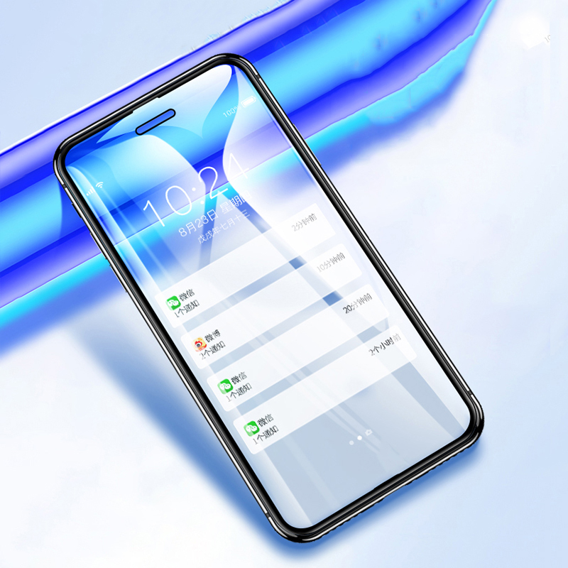 Suntaiho Anti Blue Light Tempered Glass for iPhone XS MAX 8 7 plus Screen Protector For Xiaomi Redmi 4X note4X 5 Protective Film