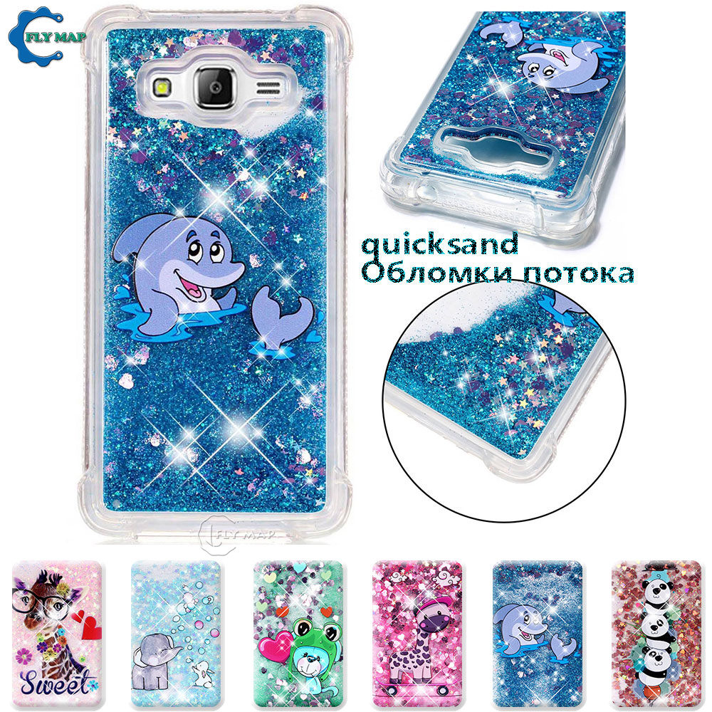 Analytical Case For Samsung Galaxy Grand Prime G531 Sm-g531h/ds Sm-g531f Sm G531h/ds G531f Glitter Stars Dynamic Liquid Quicksand Tpu Case Delicious In Taste Fitted Cases Phone Bags & Cases