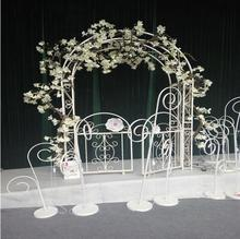 Wedding Iron Art Arch European Flower props Cane Frame