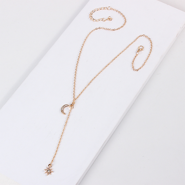 Moon Star Multi-layer Necklace