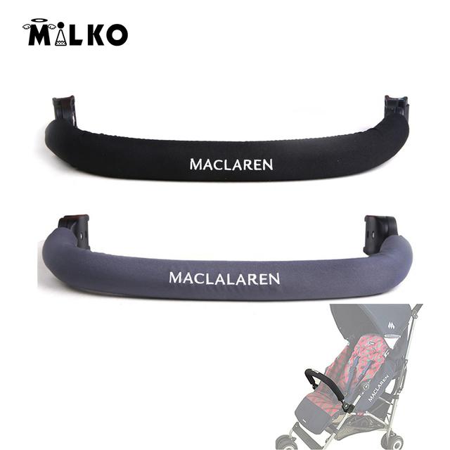 Bolsa trasera parachoques barra de cochecitos de bebé cochecito de bebé maclaren apoyabrazos apoyabrazos general portabebés accesorios 1 unidades al por mayor