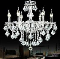 2016 Cheap Crystal Chandelier moroccan decor lustres e pendentes de cristal Clear Chandelier Crystal Free shipping