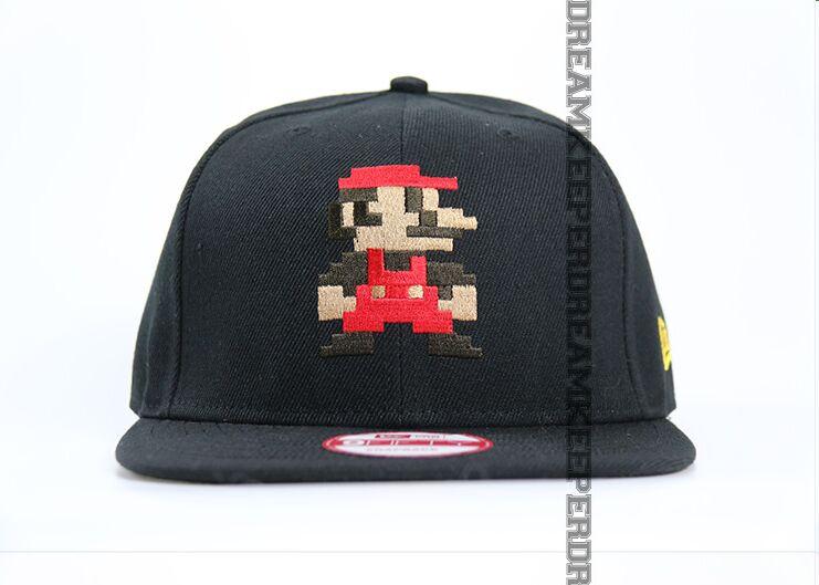Prix pour Livraison gratuite vente chaude de Haute Qualité Super Mario Bande Dessinée chapeaux baseball casquette à visière en stock