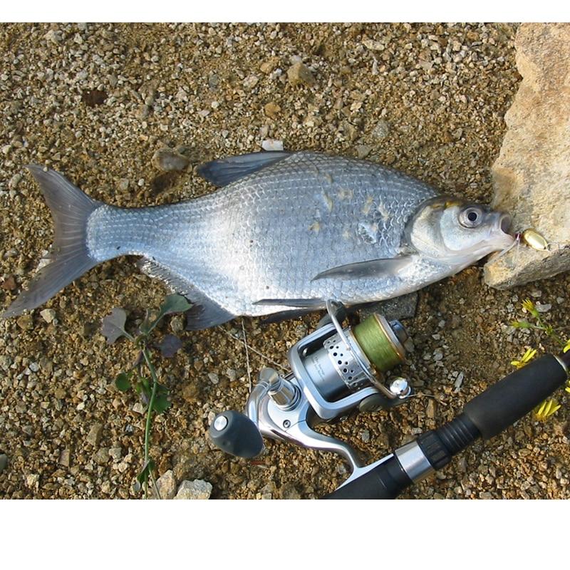 Žvejybos masalas šaukštas metalo masalas Dvivietis japonų - Žvejyba - Nuotrauka 6