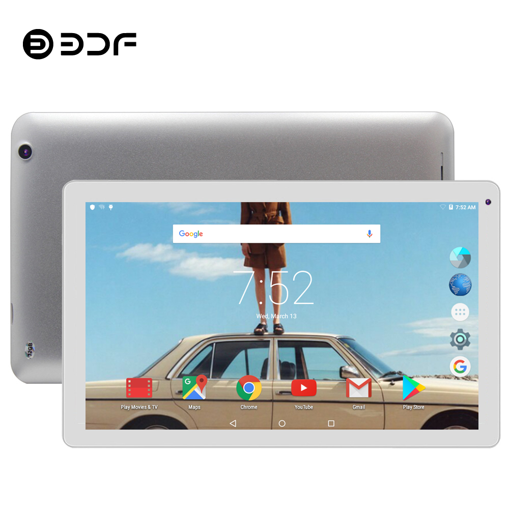 BDF 10 Inch Tablet Pc Android 5.1 Quad Core 1GB+32GB Tablet Android Tab Support Google Play Store WiFi Tablets Pc Tablet 10 10.1