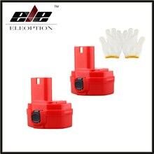 Ferramenta de Poder Substituição para Makita 2X Eleoption 14.4 V 2000 Mah Ni-cd Red Recarregável Bateria DA de 1420 1422 1433 1434 1435 1435f