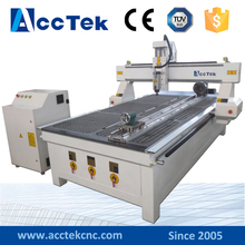 Water cooling spindle lathe machine woodworking/USB interface cnc machinery china woodworking