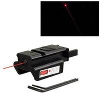 Sıcak Taktik Red Dot Lazer Sight Picatinny 20mm Ray Lazer Tabanca Glock 17 20 21 22 23 30 31 32