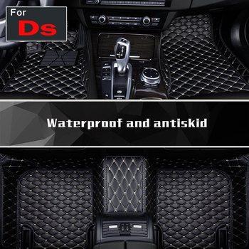 Pu Leather Auto Floor Pads Fashion Carpet Floor Mats Foot Mat For Ds Ds-5ls Ds-6 Ds-4s Ds-3 Ds-4 Ds-5