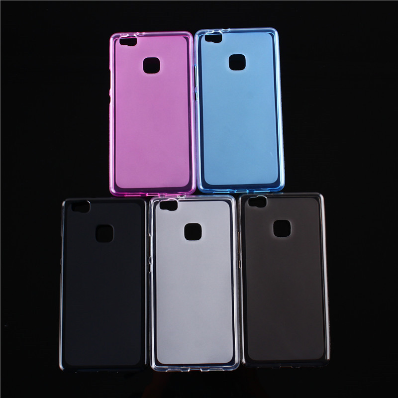 buy soft protector case for coque huawei p9 lite case silicone 5 2 back cover