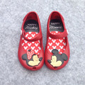 2016 Brazil New Mini Melissa Shoes Mickey & Minnie Girls Shoes Crystal Jelly Sandals Children Fish Head Shoes Melissa Red Black