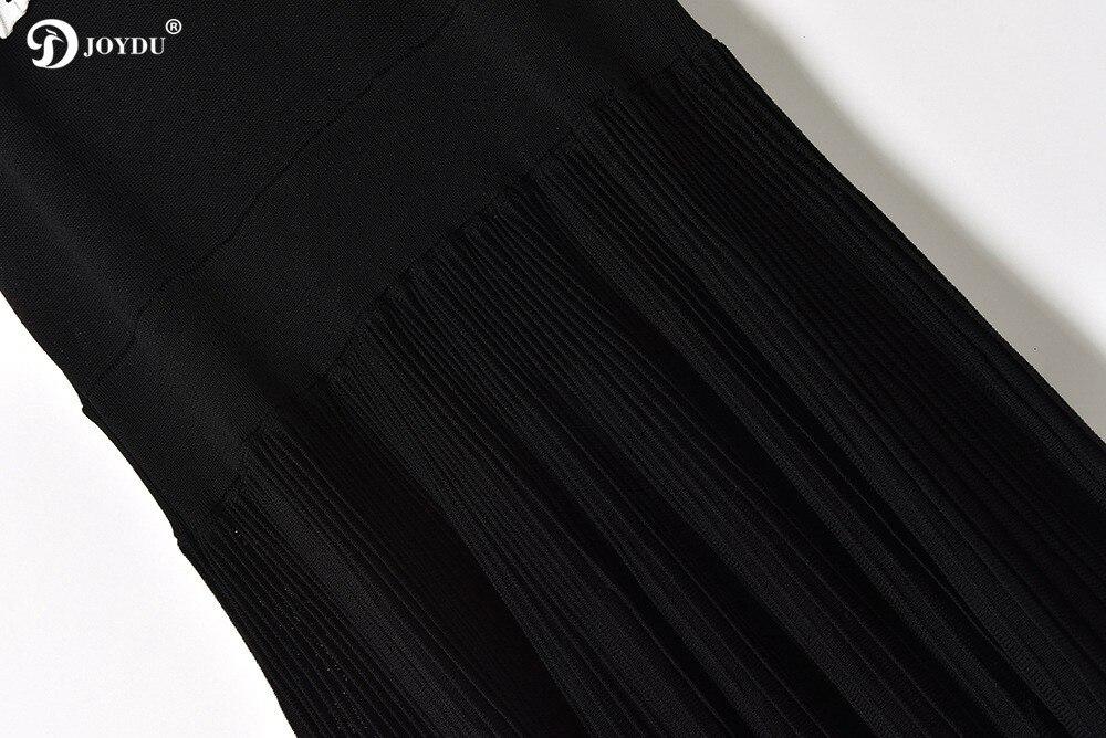 Plissée Piste Tricot Joydu Robes Maxi Robe Slash Noir Vague Mode Femmes Lace Neck Pour Summer Ruches Black Long Les Up Nouvelle Stripe 2018 vgyIYbf76
