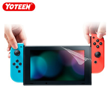 Yoteen 2Pcs for Nintend Switch Screen Protector Soft Film Console Protective HD Ultra Clear