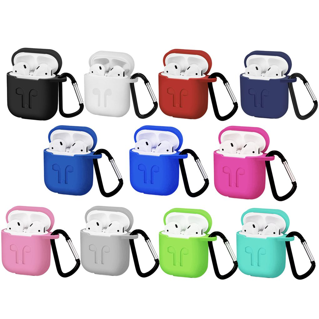 Waterproof Silicone Case for Airpods Protective Sleeve for Airpods Silicone Wireless Earphone Case Cover