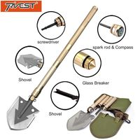 Military Shovel Folding Portable Camping Tactical Survival Shovel Multifunctional Knife Outdoor Garden Hand Tools Screwdriver