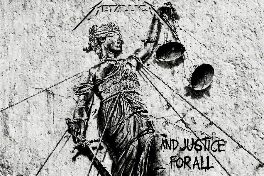 DIY framemetallica и справедливость для всех, обложка альбома тяжелых металлов хард рок-музыка группа плакат Ткань шелк Плакаты и принты ...