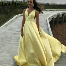 57511c200f Yellow Long Sleeve Evening Dress Promotion-Shop for Promotional ...