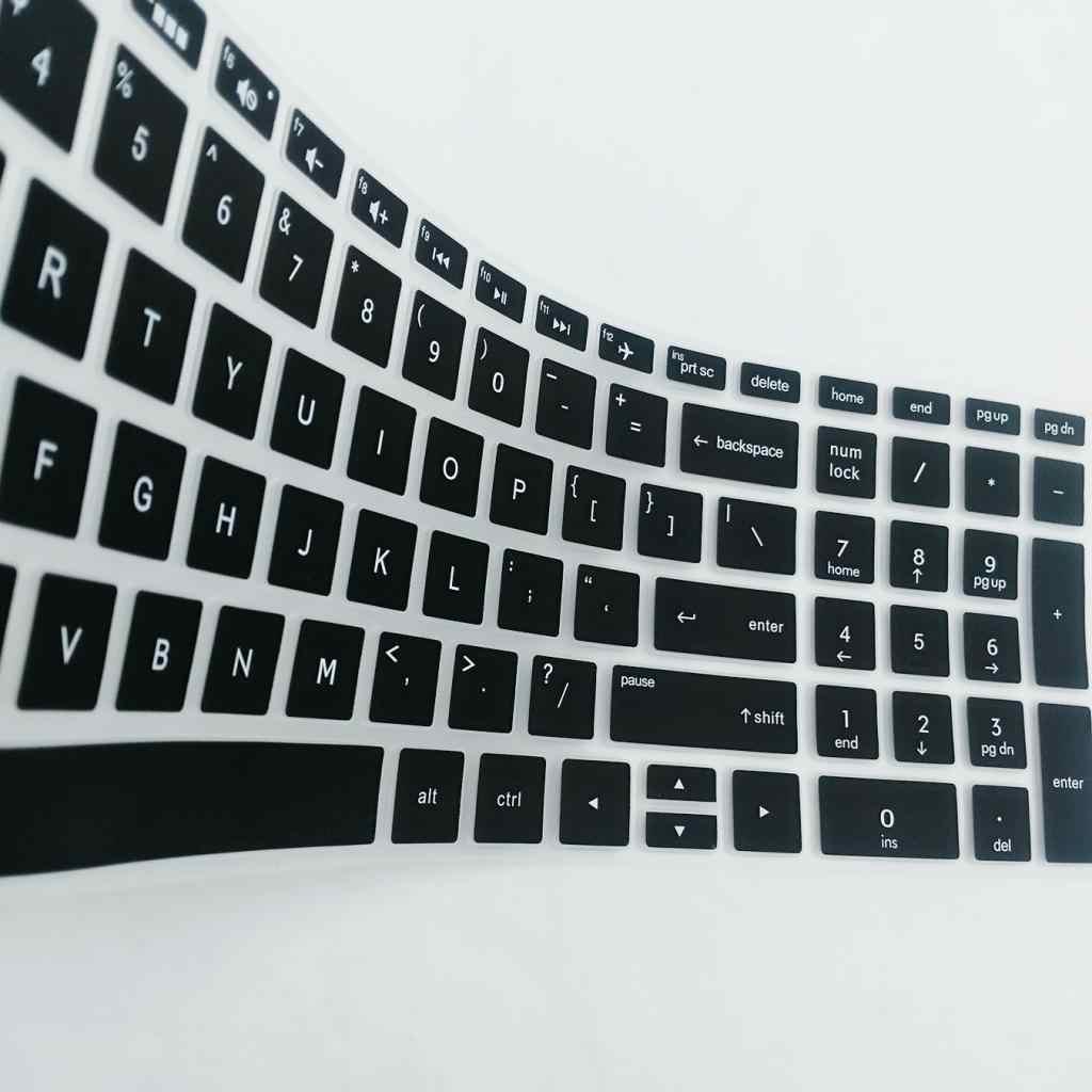 Защитная пленка для клавиатуры ноутбука настольное покрытие для клавиатуры для hp 15,6 дюймов BF защита для клавиатуры ноутбука силиконовый водонепроницаемый