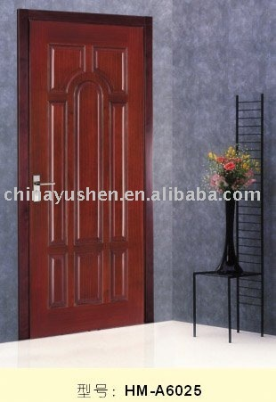 solid wooden door with popular design
