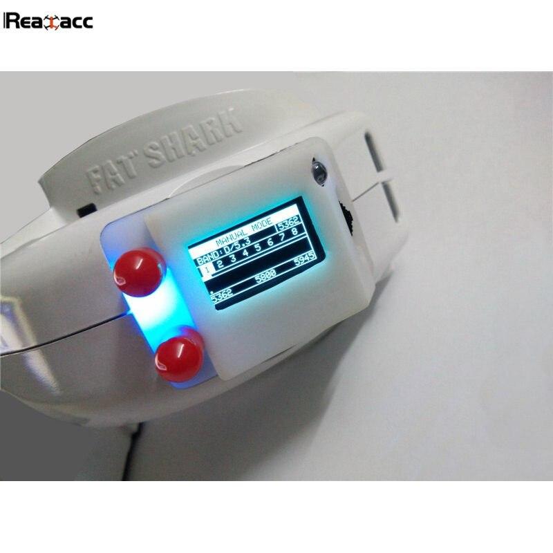 Оригинальный realacc rx5808 Pro Plus с открытым исходным кодом 5.8 Г 48ch разнообразие приемник для Fatshark dominator очки RC MultiCopter Игрушечные лошадки