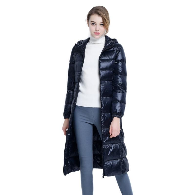 Manteaux 2018 Nouvelle Parkas Femmes gris Doudoune bleu Pardessus rouge Long Noir rAX4Afqw