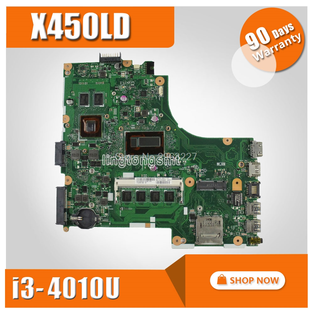 On Sale For Asus X450ld Laptop Motherboard Rev20 I3 4010u Gt820m Saklar Of Lg Main Board 100