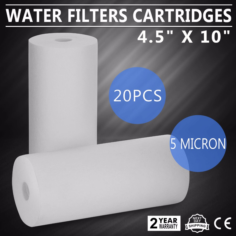 Big Blue осадков весь дом, фильтры для воды 5 микрон 4,5 х 10 картриджи
